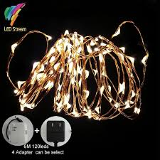 led fairy lights with timer outdoor waterproof timer 6m 120 leds fairy string lights 20 ft white
