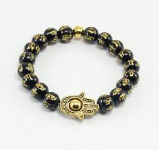 gold onyx bracelet images Bb0340 unique charm buddha bracelet black onyx bracelet ancient jpg