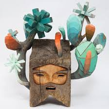 strange and mysterious wooden characters made by jaime molina