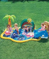 splish splash black friday in stock 51 95 inflatable above ground baby pool with slide