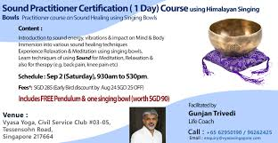 nada yoga 1 sound healing practitioner certification singapore