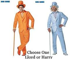 dumb and dumber costumes dumb dumber orange and blue costume tuxedo