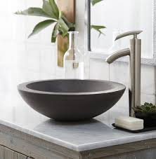 black stone bathroom sink furniture beautiful bathroom top mount sinks using black stone basin