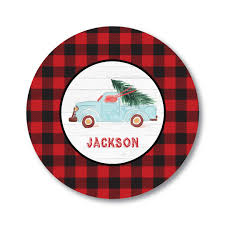 vintage personalized plate