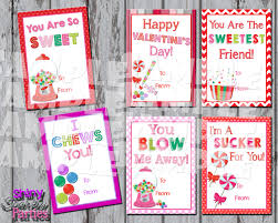 candy cards printable candy cards girl s valentines diy