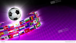 Football Country Flags Soccer International Flags Sport Background 55 Hd Stock