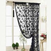 Butterfly Kitchen Curtains by Cheap Butterfly Kitchen Curtains Free Shipping Butterfly Kitchen