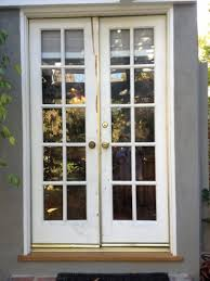 easylovely narrow exterior french doors in simple home interior
