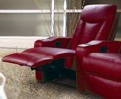 top rated home theater seating coaster pavillion home theater seating set red 600132 3 at