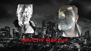 sin city marv halloween costume marv frank miller u0027s sin city makeup tutorial youtube