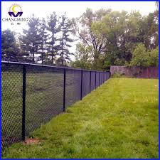 Decorate A Chain Link Fence Black Coated Chain Link Fence Home Decoration Ideas