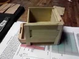 Small Wooden Box Plans Free by Puzzle Box Build Youtube