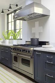 Blue Kitchen Cabinets Contemporary Kitchen James R Salomon - Blue kitchen cabinets
