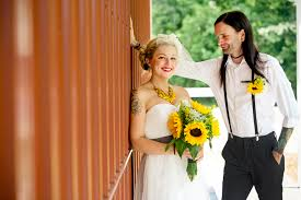sunflower wedding a diy rustic sunflower wedding bespoke wedding