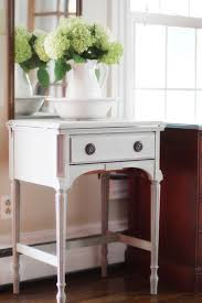 Entry Hall Furniture by What To Do With Those Old Sewing Machine Cabinets Diy