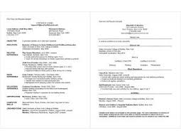 Resume Jobs by Examples Of Resumes 93 Marvellous Outline For A Resume Writing