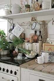 4842 best farmhouse rustic vintage primitive images on country kitchen with all kinds of things hanging and dangling use kitchen rails and hooks