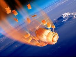 Space Debris Map Mysterious Space Junk To Hit Earth Business Insider