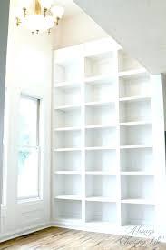 whitewash bookcase bookcase tall white bookshelf super tall built