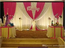 wedding backdrop design wedding decorations props 3m 6m sequins edge design fabric