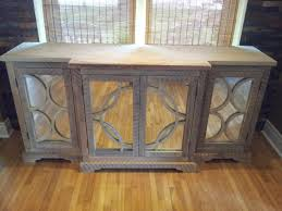 reclaimed wood and mirrored buffet cabinet wallpaper photos hd