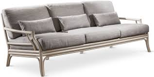 Traditional Sofa Traditional Sofa Fabric Solid Wood 3 Seater Bamboo Cantori