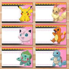 pokemon food tents pink chalkboard pokemon pikachu