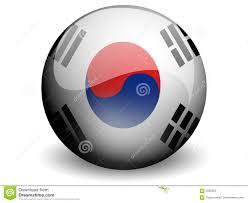 Flag Of South Korea Round Flag Of South Korea Stock Illustration Illustration Of Asia
