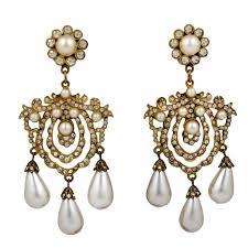 Chandelier Earrings Unique Chandelier Earrings Kenneth Jay Lane Pearl Girandole Pearl Earrings Kenneth Jay Lane
