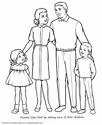 church coloring pages church family honkingdonkey