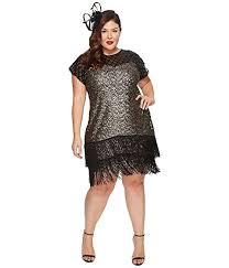 unique vintage plus size del mar flapper dress at zappos com