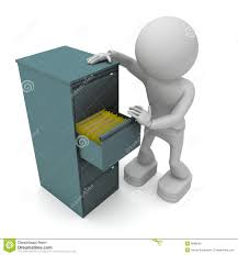 Free Filing Cabinet Figure And File Cabinet Royalty Free Stock Images Image 9068639
