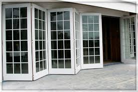 Aluminium Folding Patio Doors Four Pane Aluminium Folding Bi Fold Door With Modern Style Folding