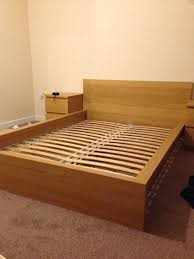 Malm Low Bed Frame Ikea Malm Low Bed Frame In Oak Veneer In Perth Perth