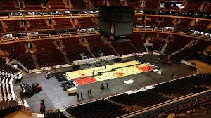 United Center Floor Plan by Ice To Hardwood United Center Photo Timelapse Chicago Tribune
