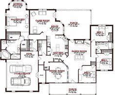 house plans designs 5 bedroom house plans open floor plan designs 6000 sq ft