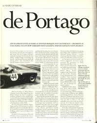 Charisma Bad Neuenahr De Portago Motor Sport Magazine Archive