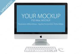 40 imac mockups psds photos u0026 vectors design shack