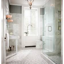 Marble Tile Bathroom by Bathroom Gorgeous White Bathroom Decoration Using White Octagon