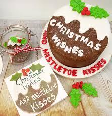 christmas cake decorating ideas u2013 4 very different designs cake