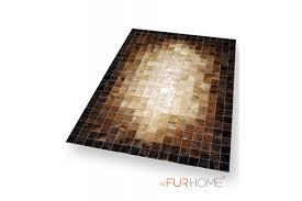 Patchwork Cowhide Rug Beige U0026 Brown Mosaic Patchwork Cowhide Leather Rug K 1687 Fur Home