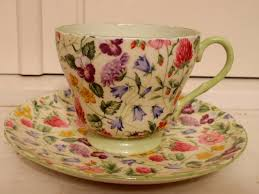 vintage shelley chintz countryside cup u0026 saucer fine bone china