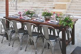 table and chair rentals san diego farm table rentals bench rentals market lighting more san