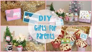 Homemade Christmas Gifts by Diy Holiday Gift Ideas For Parents Ilikeweylie Youtube