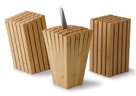 cool knife block split bamboo knife block so that s cool