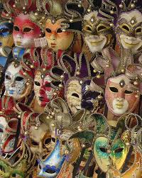 carnival masks for sale venetian masks photograph by ramona johnston