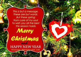 precious christmas card for girlfriend simple decoration and