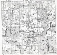 Michigan Township Map by Map Of Fenton Michigan Michigan Map