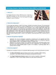 bca bim fund guide building information modeling technology