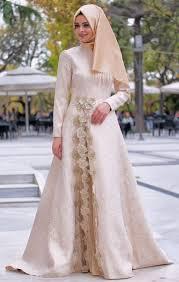dress pesta 50 model baju brokat muslim dari dress gamis hingga gaun pesta